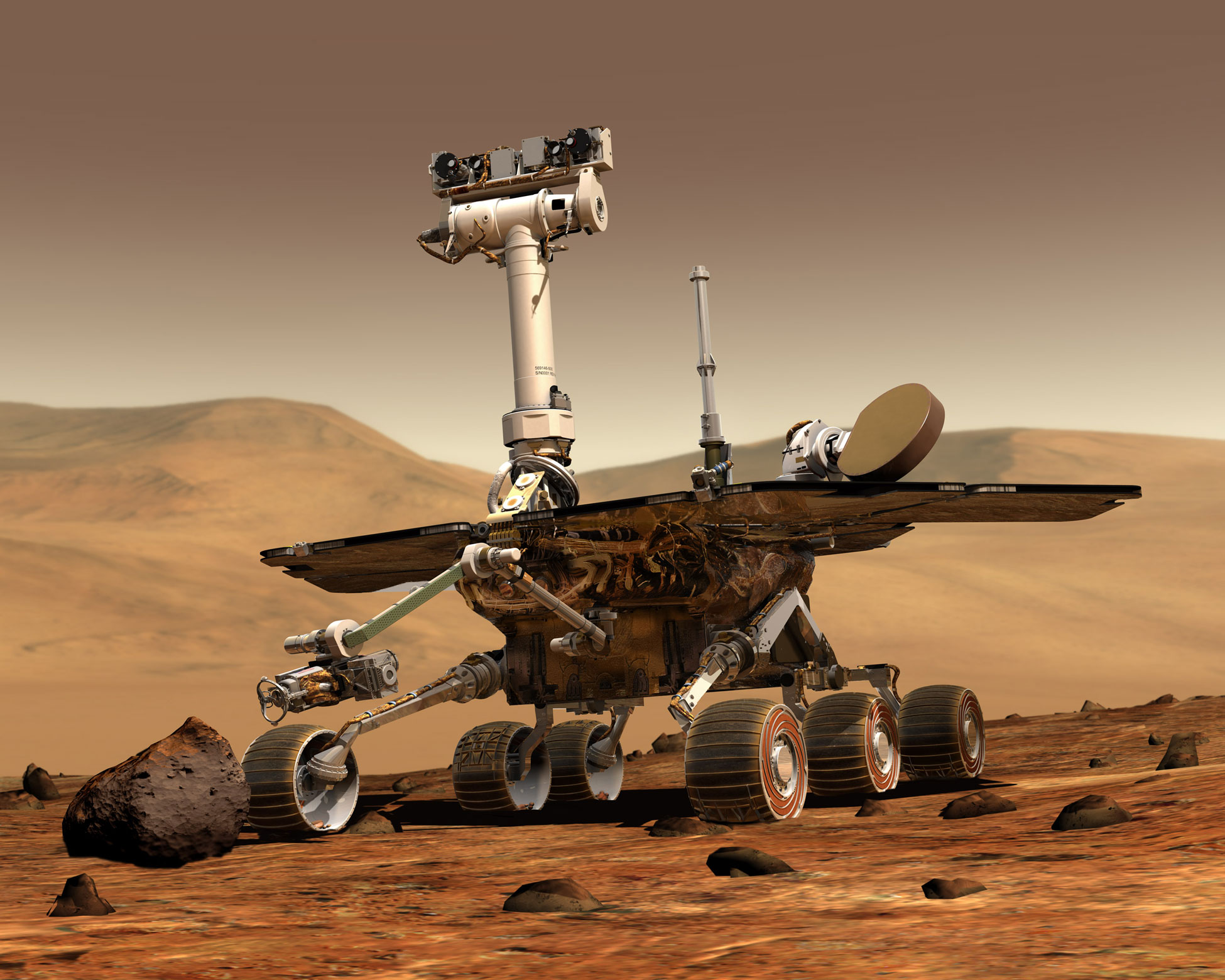 Goodbye Mars Rover Spirit